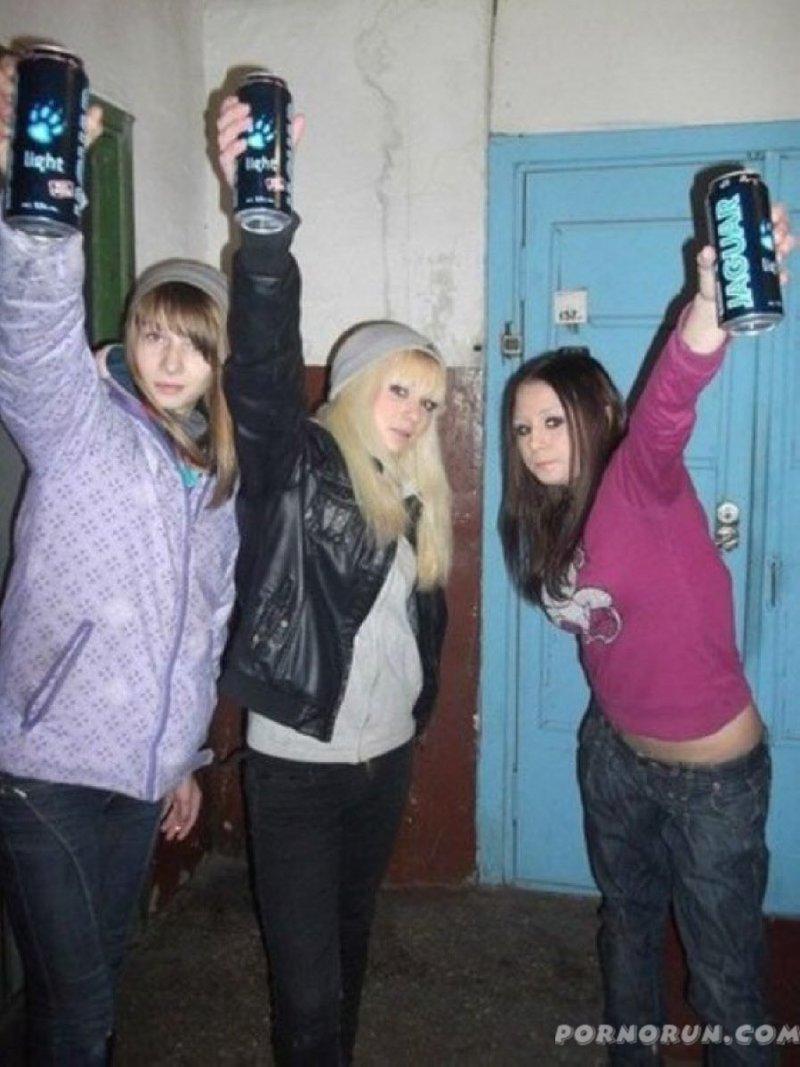 И они любят выпить Стиль, гопники, девушки, интересное, мода, фото, юмор