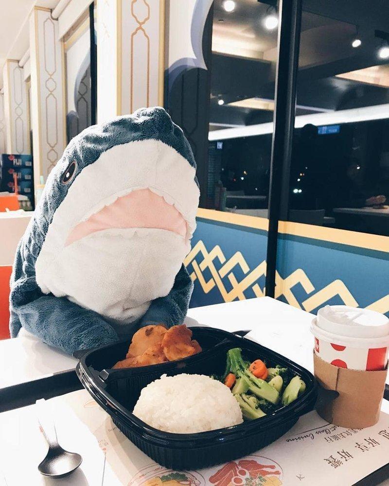 10. Акулы любят плотно покушать, они же всё-таки акулы акула, животные, игрушка, икея, прикол, юмор