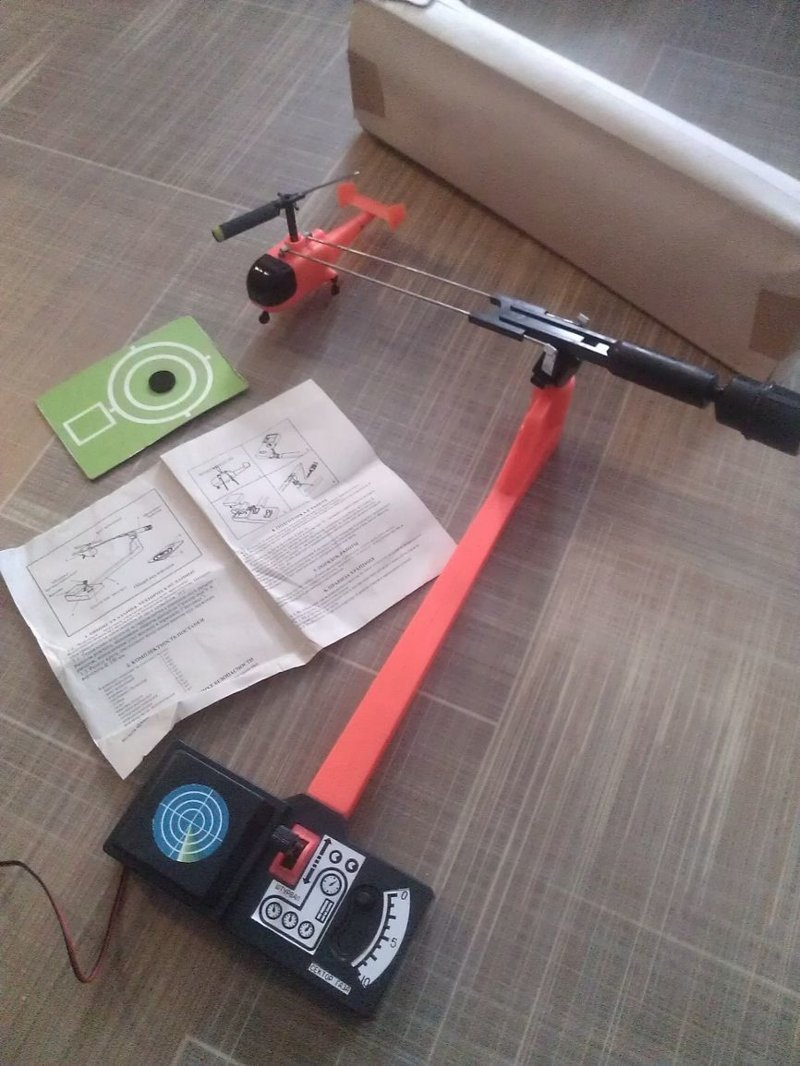 10. Вертолет, не радиоуправляемый, конечно, как хотелось бы, но тоже было круто СССР, детские игрушки, игрушки, интересно, раритет, фото