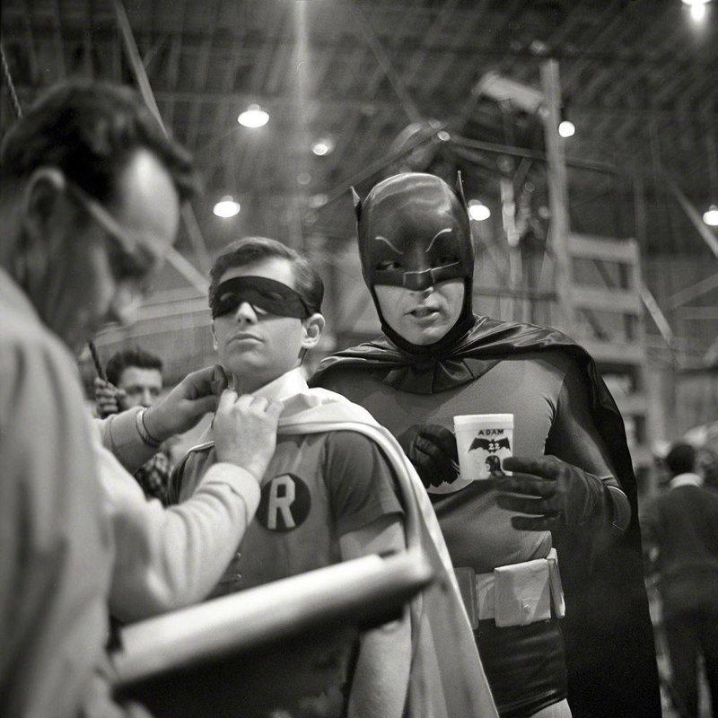 «Бэтмен и Робин» закулисье, кино, редкие кадры, съемки