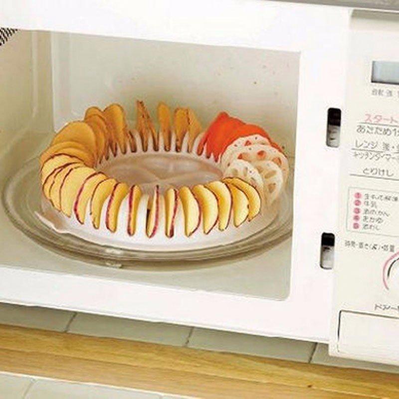 7.  Приспособление для жарки чипсов в микроволновке aliexpress, вещи, интернет-магазин, кухня, необычно, подарки, удобно