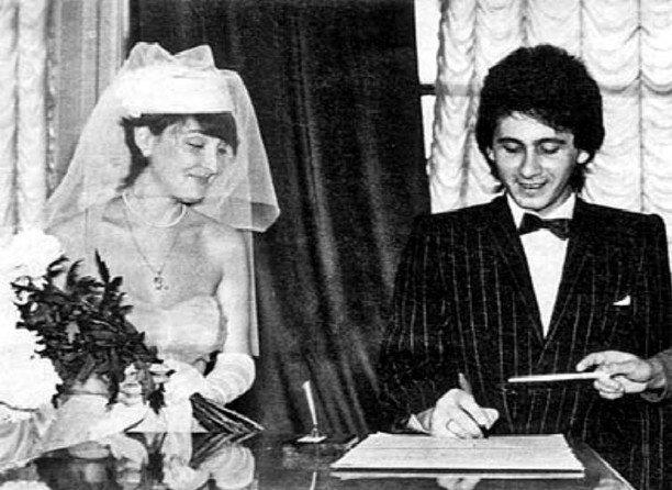 Лолита Горелик и Александр Беляев, 1985 актеры, звезды, знаменитости, политики, свадьба, эстрада