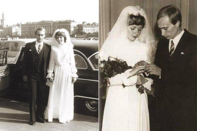 Владимир Путин и Людмила Шкребнева, 1983 актеры, звезды, знаменитости, политики, свадьба, эстрада