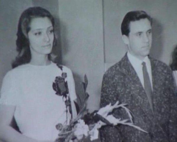 Владимир Высоцкий и Людмила Абрамова, 1965 актеры, звезды, знаменитости, политики, свадьба, эстрада