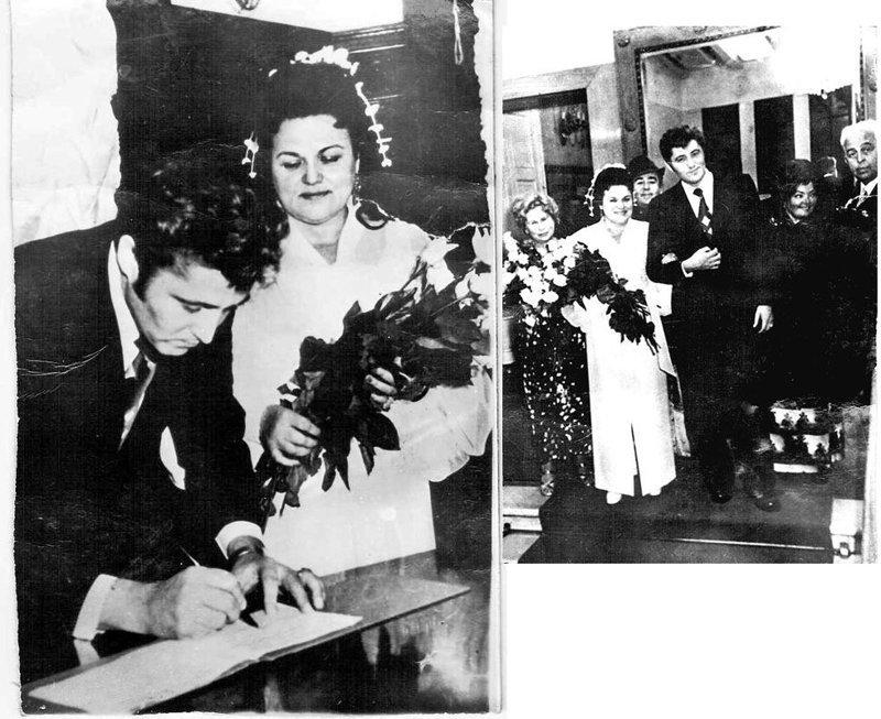 Людмила Зыкина и Виктор Гридин, 1975 актеры, звезды, знаменитости, политики, свадьба, эстрада
