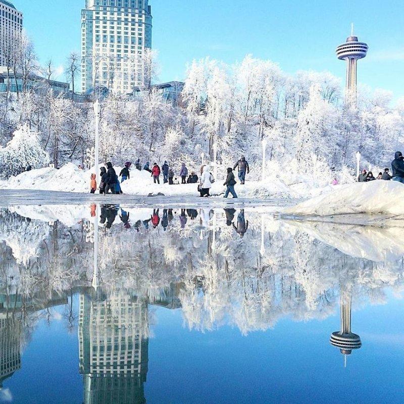 Ниагара Фоллз, Канада интересно, искуство, мир отражений, необычно, параллельные миры, фотограф, фотография, фотохудожник