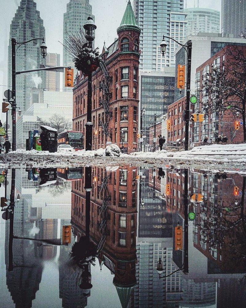 Торонто, Канада интересно, искуство, мир отражений, необычно, параллельные миры, фотограф, фотография, фотохудожник