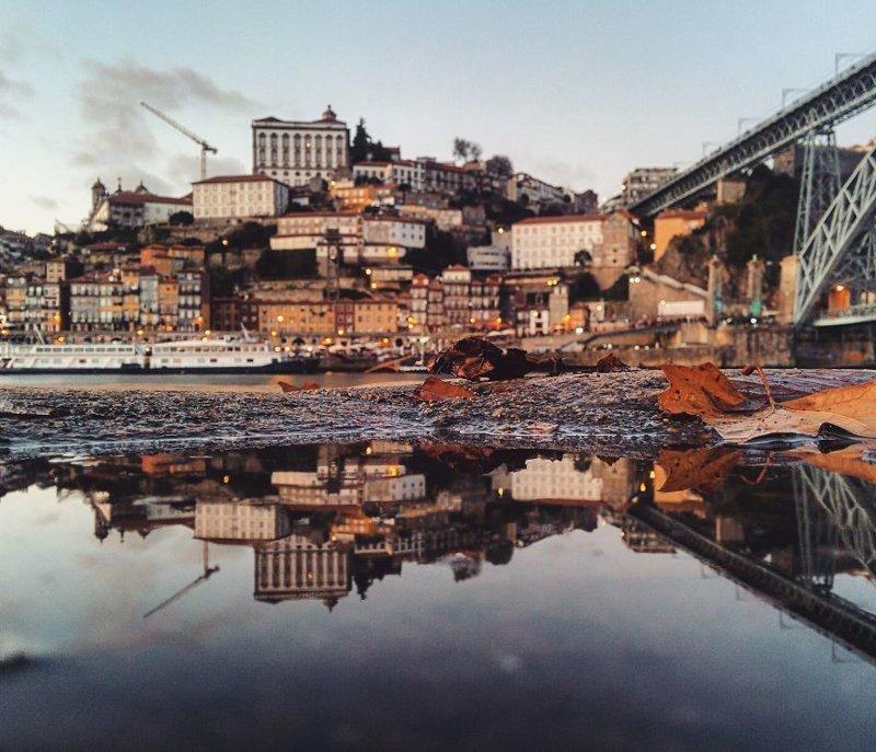 Порту, Португалия интересно, искуство, мир отражений, необычно, параллельные миры, фотограф, фотография, фотохудожник