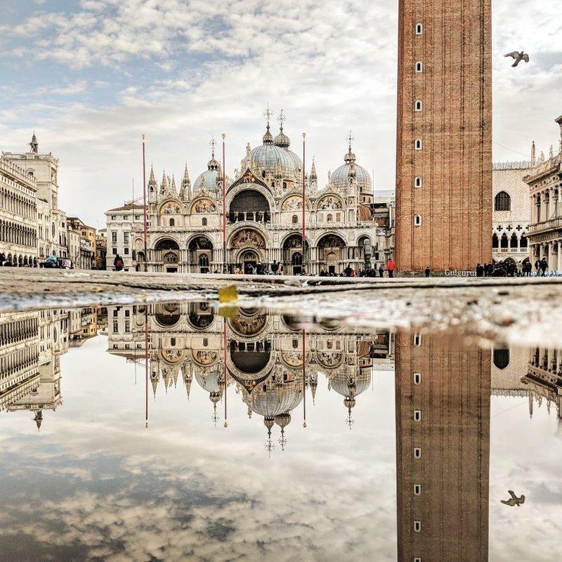 Венеция, Италия интересно, искуство, мир отражений, необычно, параллельные миры, фотограф, фотография, фотохудожник