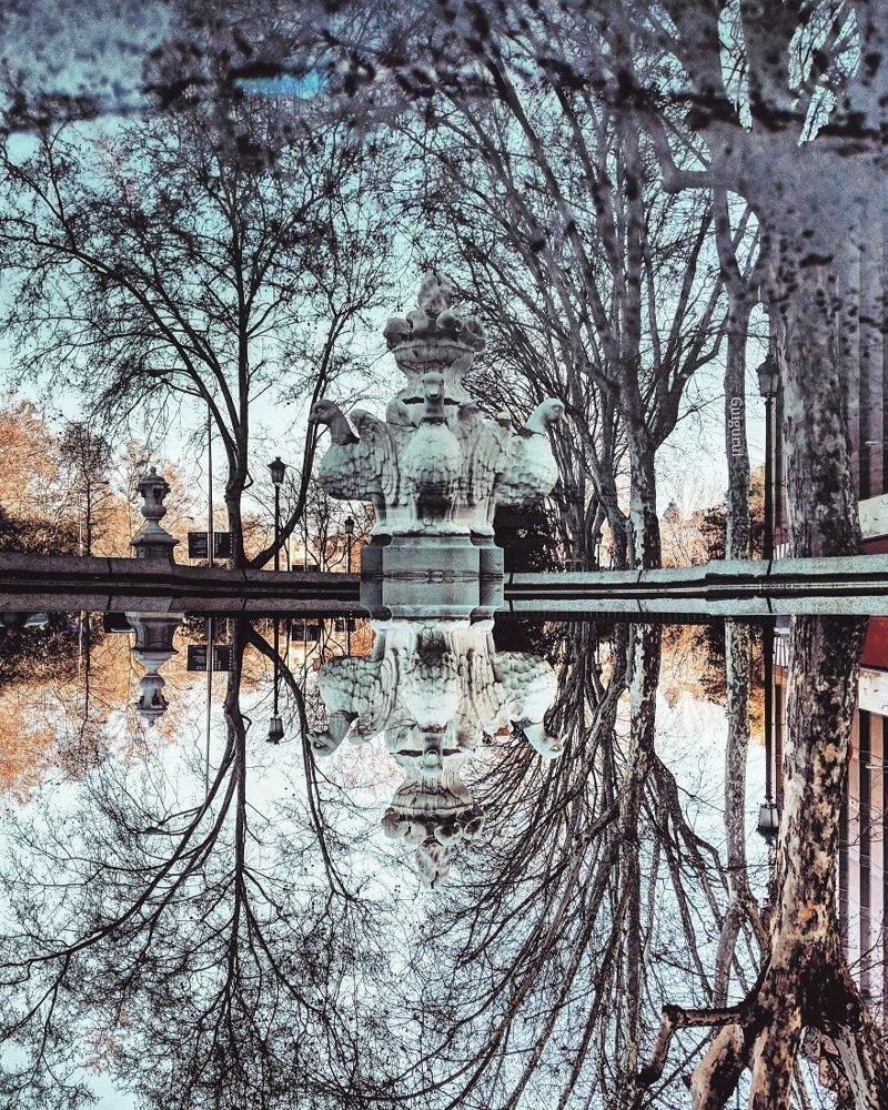 Мадрид, Испания интересно, искуство, мир отражений, необычно, параллельные миры, фотограф, фотография, фотохудожник