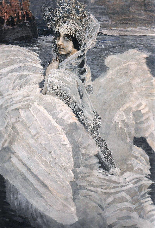 Царевна-лебедь, 1900 Врубель, биография, великие имена, искусство, картины, керамика, творчество, художник