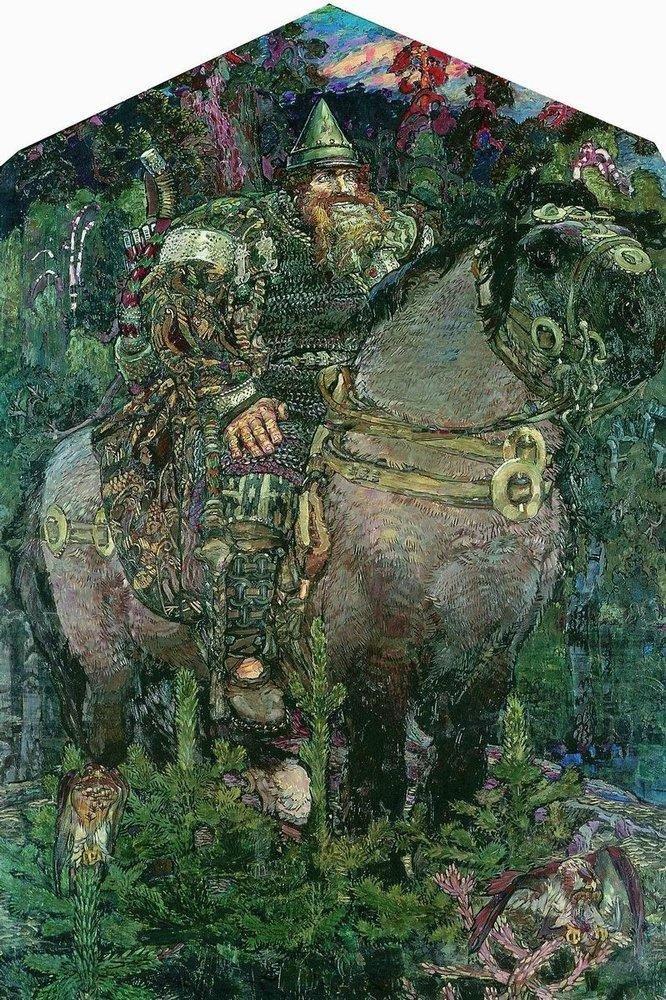 Богатырь. 1898 Врубель, биография, великие имена, искусство, картины, керамика, творчество, художник