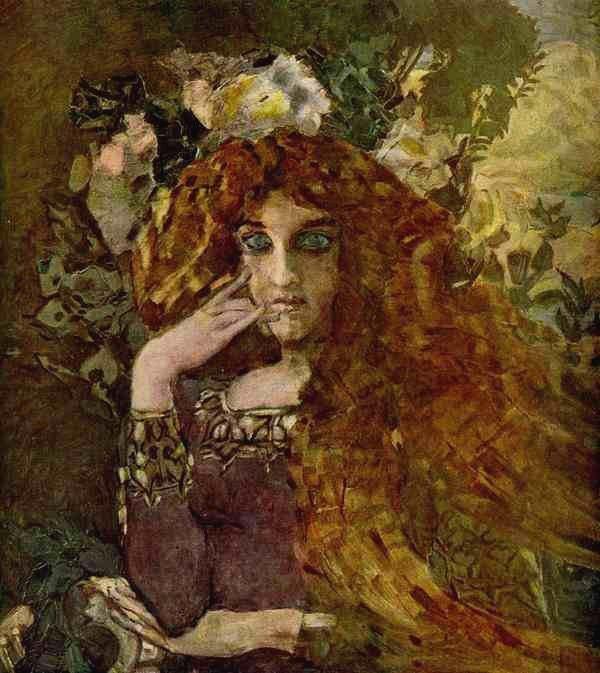 Муза, 1896 Врубель, биография, великие имена, искусство, картины, керамика, творчество, художник