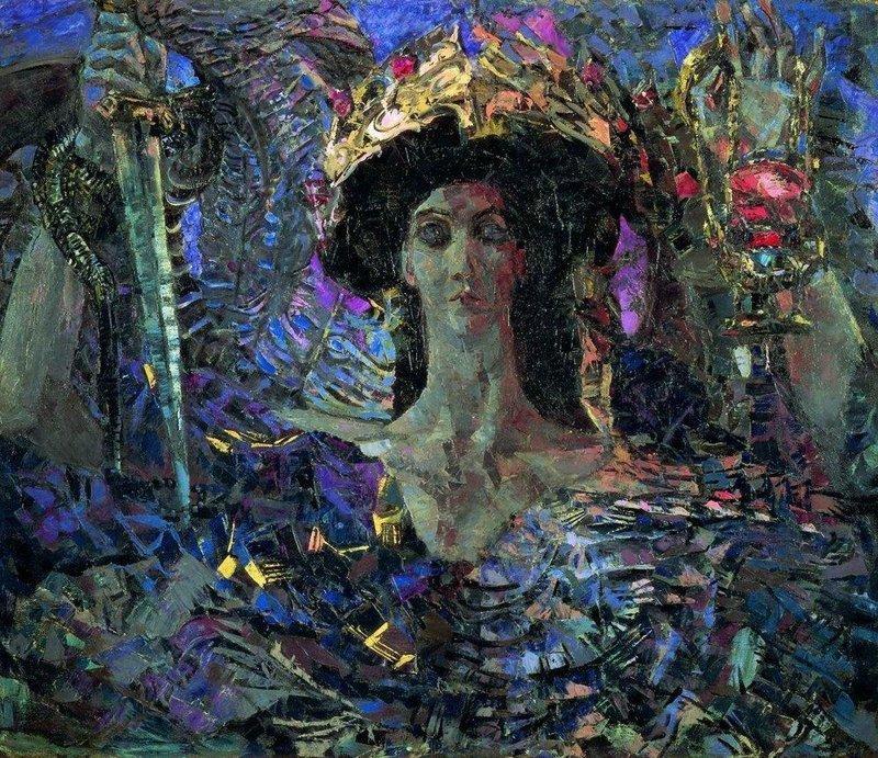 Шестикрылый серафим (Азраил). 1904 Врубель, биография, великие имена, искусство, картины, керамика, творчество, художник