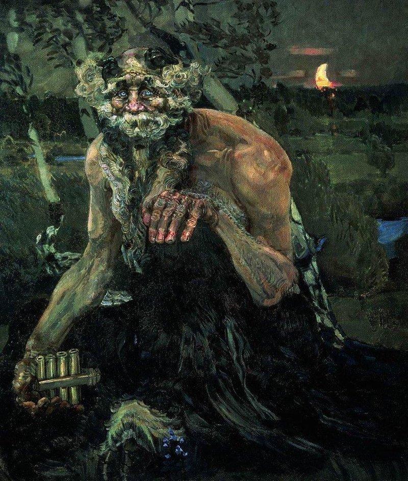 Пан. 1899 Врубель, биография, великие имена, искусство, картины, керамика, творчество, художник