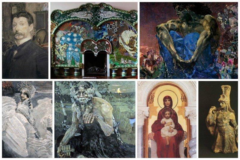 Великие имена в искусстве. Часть 3. Демоны Врубеля от которых мороз по коже Врубель, биография, великие имена, искусство, картины, керамика, творчество, художник