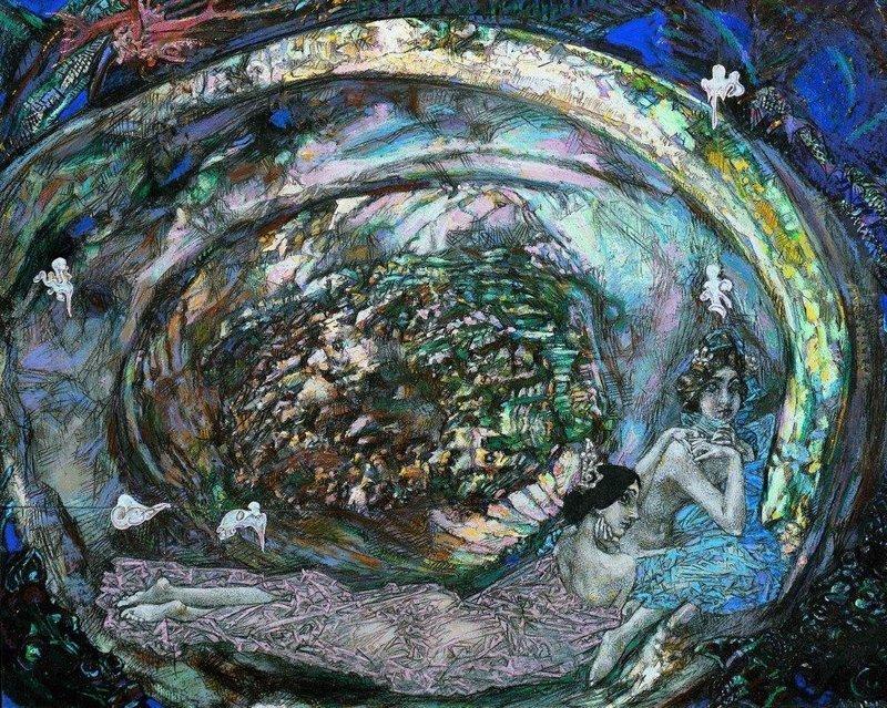 Жемчужина. 1904 Врубель, биография, великие имена, искусство, картины, керамика, творчество, художник