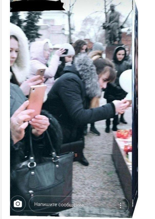 Шарики, запущенные в память о погибших в Кемерово.  Обратная сторона, последствия кемерово, последствия, шарики