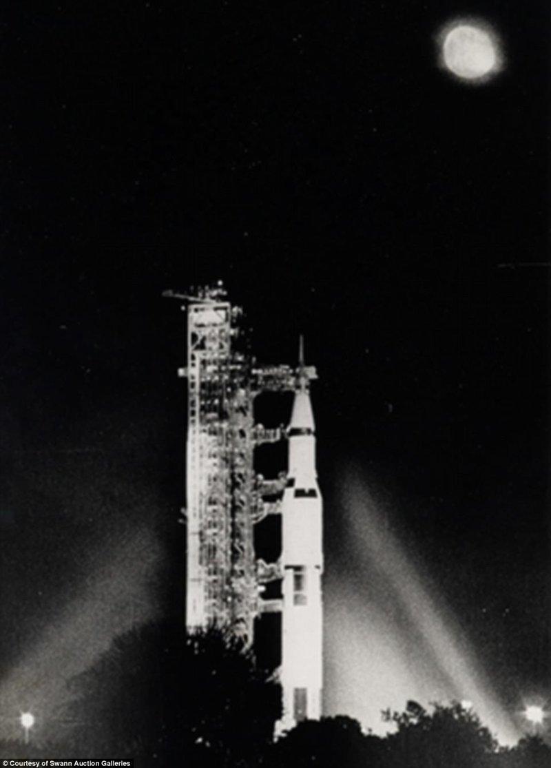 """Ракета """"Сатурн-5"""" с кораблем """"Аполлон-12"""" Apollo, gemini, nasa, Программа Меркурий, космические запуски, космические миссии, космос, фотоархив"""