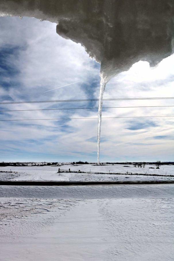 5. Ледяной торнадо иллюзия, люди, мир, обман, показалось, природа, фотография