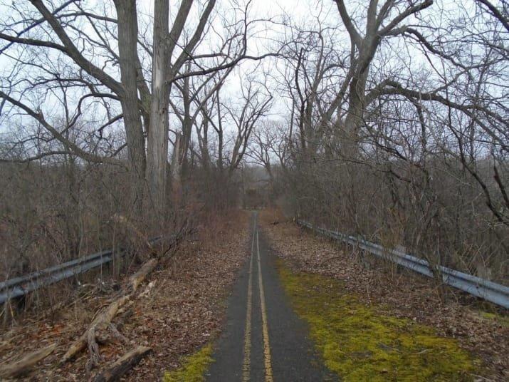 Заброшенная дорога: природа шаг за шагом отбирает свое мрачно, мрачные шутки, необычно, необычные картинки, необычные фотографии, природа, пугающе, фото
