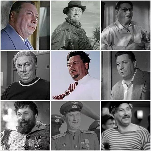 Кинороли Василия Меркурьева актёр, кино, народный артист СССР