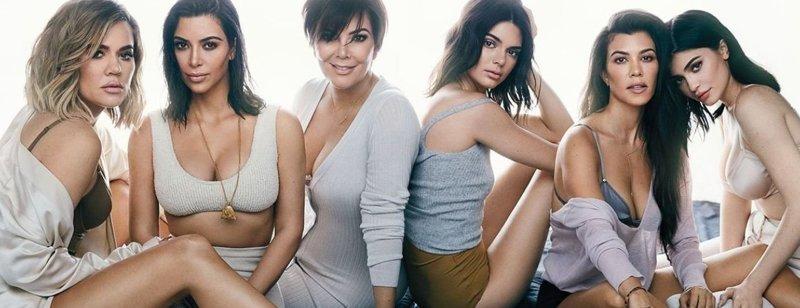 Как выглядели сёстры Кардашьян до пластических операций и как они выглядят сейчас внешность, знаменитости, кардашьян, операция, сестры