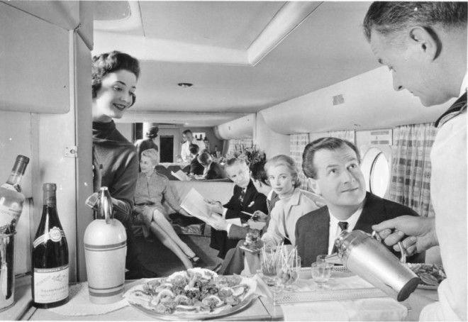 В British Airways были бары, где пассажирам готовили коктейли на заказ Шикарно, богатство, охренели, перелёт, роскошь, самолёт, фото