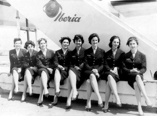 А так выглядели хостес авиакомпании Iberia Шикарно, богатство, охренели, перелёт, роскошь, самолёт, фото