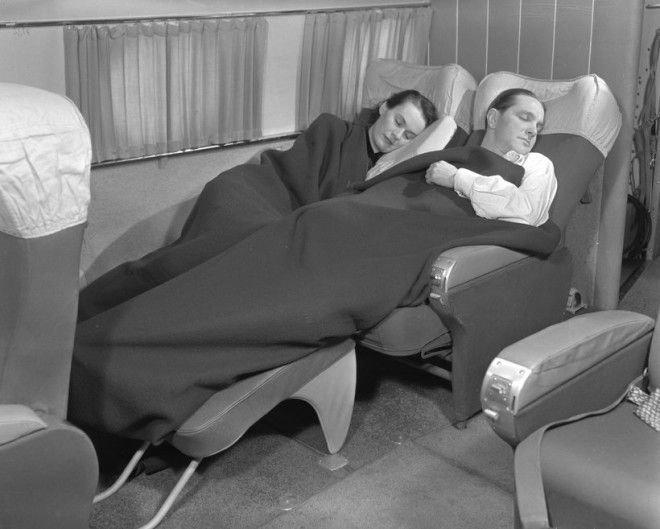 Не так уж много изменилось в первом и бизнес-классе авиалиний KLM с 1949 года Шикарно, богатство, охренели, перелёт, роскошь, самолёт, фото