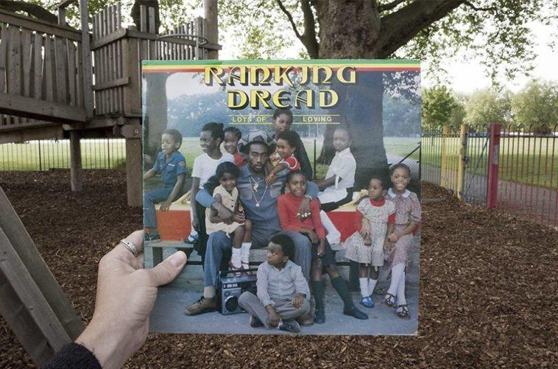 35 лет спустя виниловые пластинки, воссоздание, годы спустя, музыкальные альбомы, обложки альбомов, обложки виниловых пластинок, пластинки, фотопроект