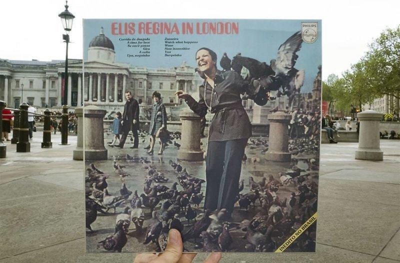 47 лет спустя виниловые пластинки, воссоздание, годы спустя, музыкальные альбомы, обложки альбомов, обложки виниловых пластинок, пластинки, фотопроект