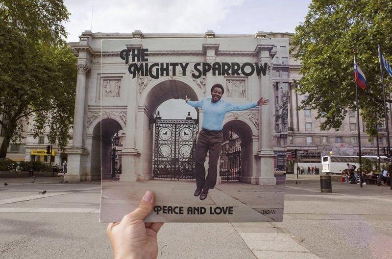 38 лет спустя виниловые пластинки, воссоздание, годы спустя, музыкальные альбомы, обложки альбомов, обложки виниловых пластинок, пластинки, фотопроект