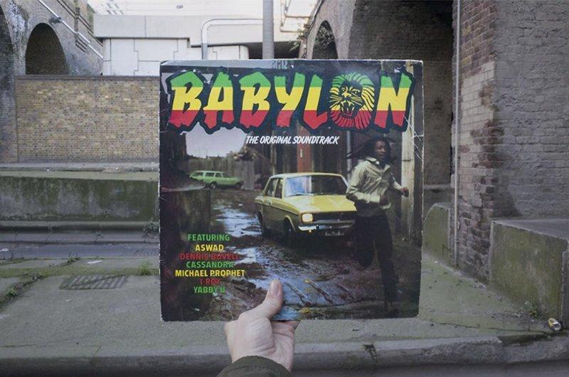 36 лет спустя виниловые пластинки, воссоздание, годы спустя, музыкальные альбомы, обложки альбомов, обложки виниловых пластинок, пластинки, фотопроект