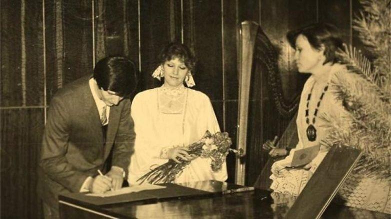 Елена Проклова и Виталий Мелик-Караев, 1971 актеры, звезды, знаменитости, политики, свадьба, эстрада