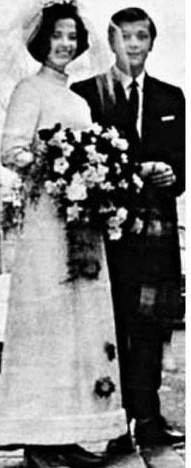 Михаил Задорнов и Велта Калнберзина, 1971 актеры, звезды, знаменитости, политики, свадьба, эстрада