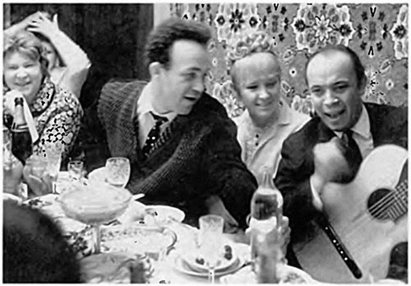 Иосиф Кобзон и Людмила Гурченко, 1967 актеры, звезды, знаменитости, политики, свадьба, эстрада