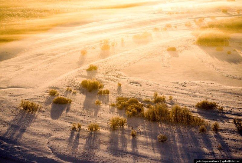 Югра с высоты Ханты-Мансийский автономный округ, Югра, фоторепортаж