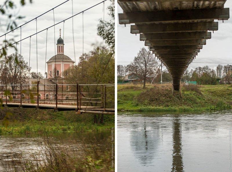 Висячие мосты Подмосковья Висячие мосты, ПОДМОСКОВЬЕ, фоторепортаж