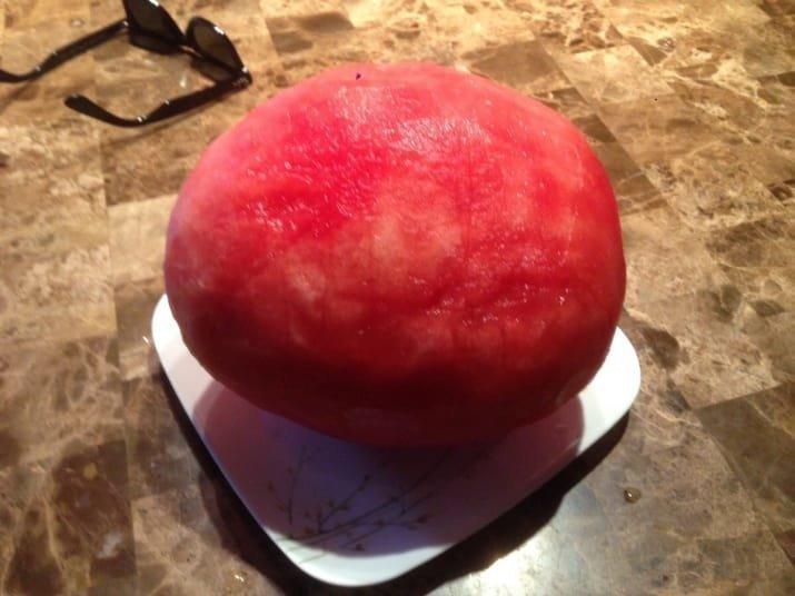 3. Очищенный арбуз Вопрос ребром, восприятие, кожура, овощи, очищенные, фрукты, фрукты и овощи, ягоды
