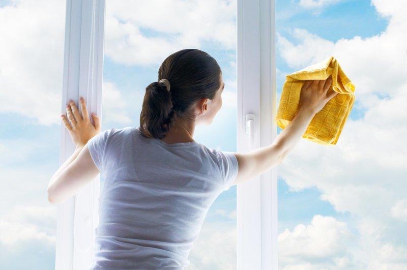 5. Не спешим, заботясь о качестве легко и просто, мытье окон, уборка, хитрости, чистота