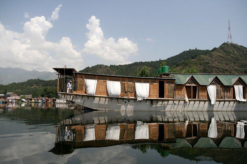 Плавучие дома город, дом-лодка, плавучий дом, судно, судоходство, хаусбот, эстетика