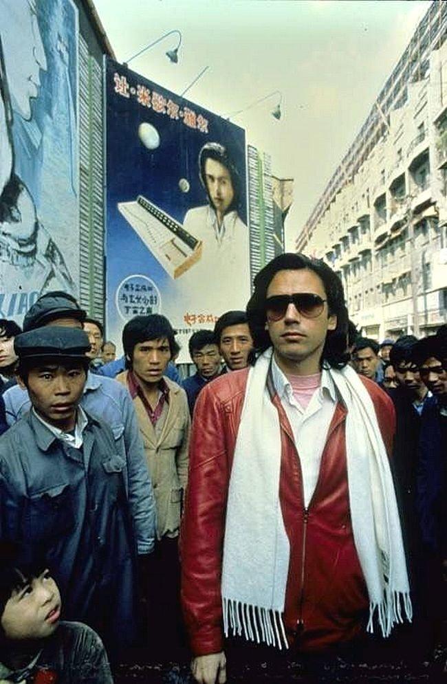 Жан Мишель Жарр в Китае композитор, музыка, франция