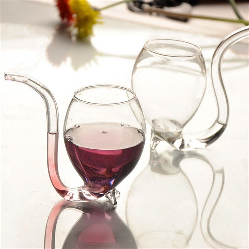 7. Стеклянный бокал с трубочкой aliexpress, вещи, гаджет, интернет-магазин, необычно, подарки