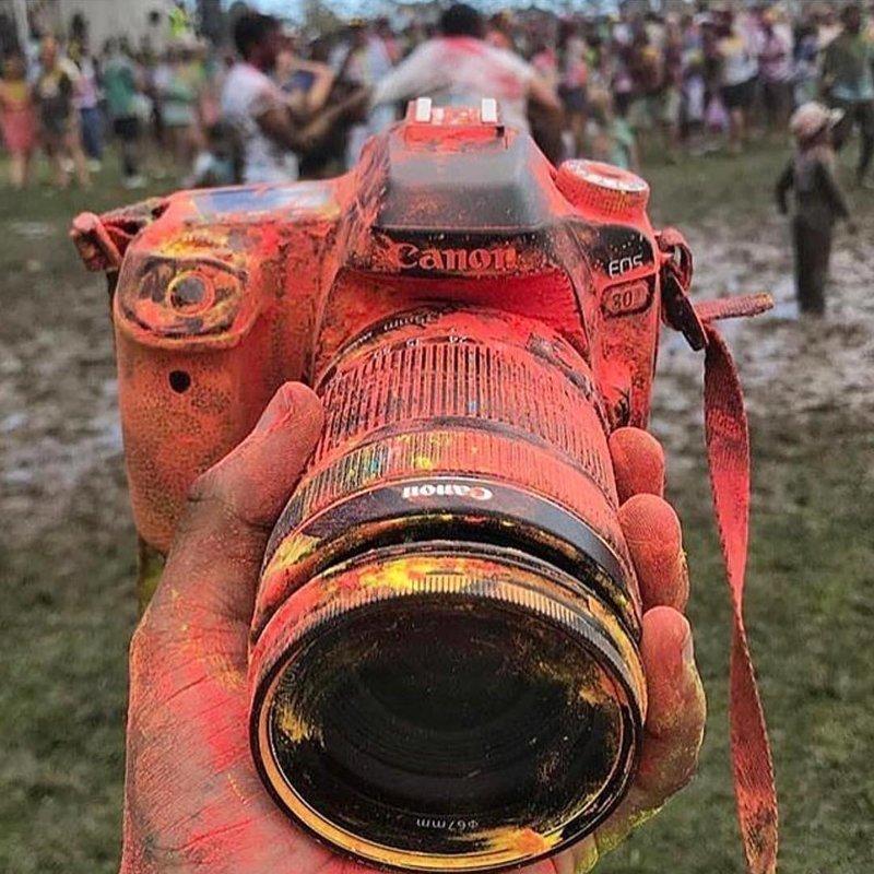 К слову, защита от пыли в современных камерах тоже есть боль, зеркалка, камера, фотография