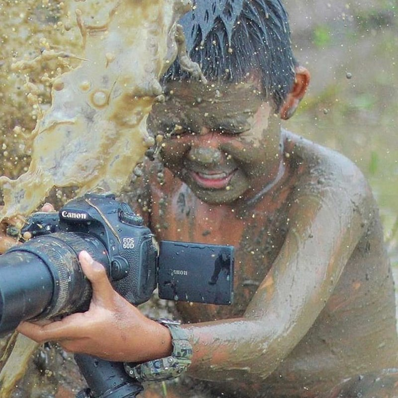 И опять же, если к пыли этой добавляется ещё и вода… боль, зеркалка, камера, фотография