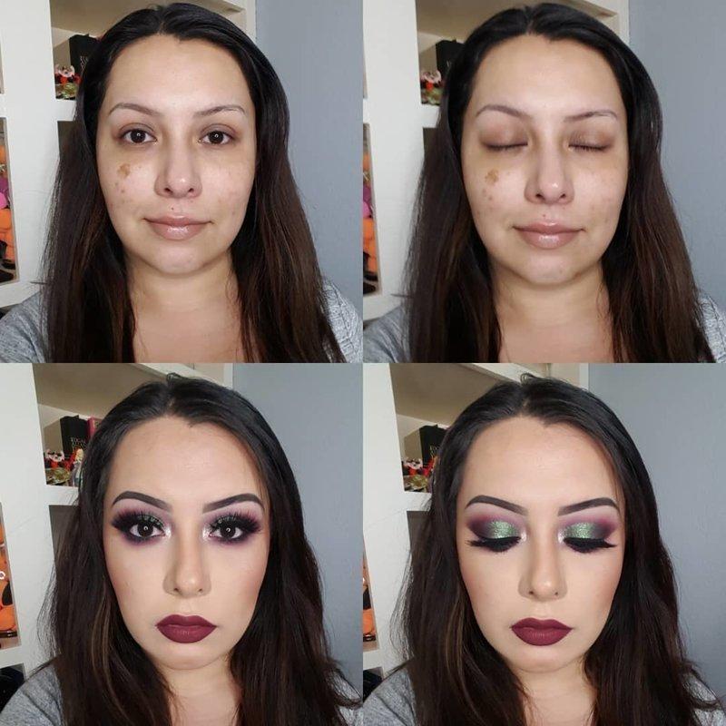 Какое огромное количество времени и сил тратится на то, чтобы утром тотально себя загриммировать девушки, до и после, макияж, мужчины и женщины, отношения
