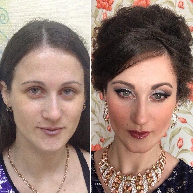 20 фотографий «до и после», которые доказывают, что женщинам вообще нельзя верить девушки, до и после, макияж, мужчины и женщины, отношения