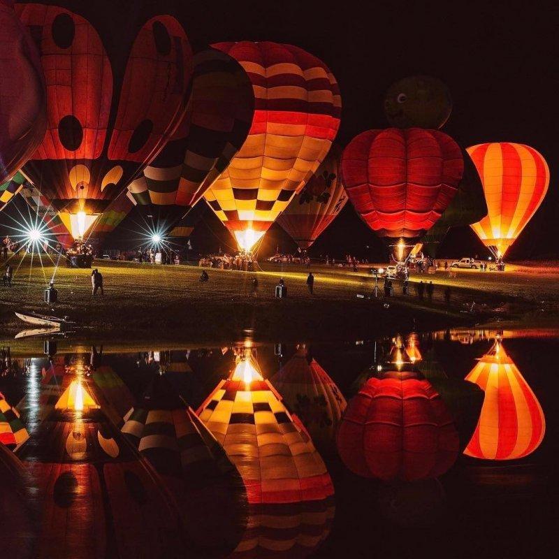 Запуск воздушных шаров день, животные, кадр, люди, мир, снимок, фото, фотоподборка