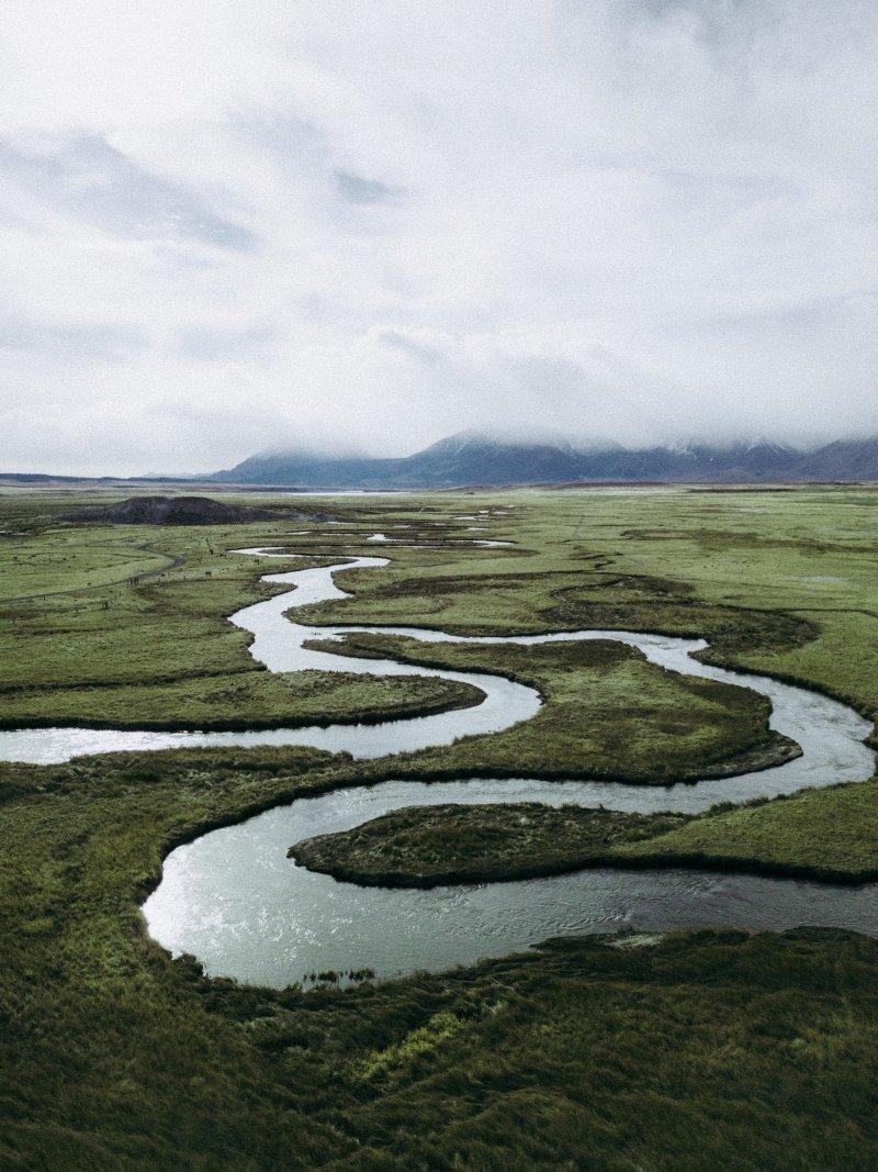Горная река день, животные, кадр, люди, мир, снимок, фото, фотоподборка